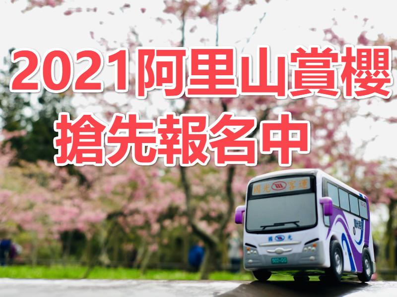 🌸【櫻花季】2021春遊賞櫻 阿里山夜未眠一日遊(CHY34)