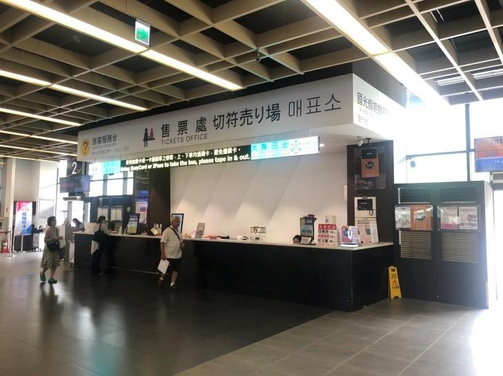台北車站出發