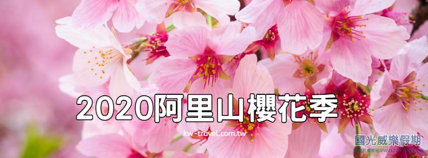 2020阿里山賞櫻