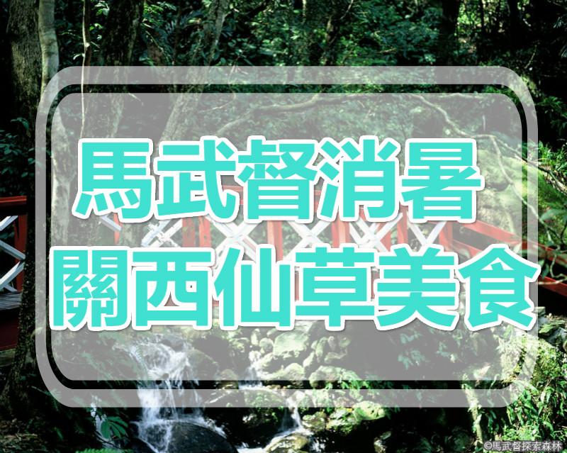 🔥【消暑退火氣】關西仙草老街  馬武督探索一日遊(HSH05)